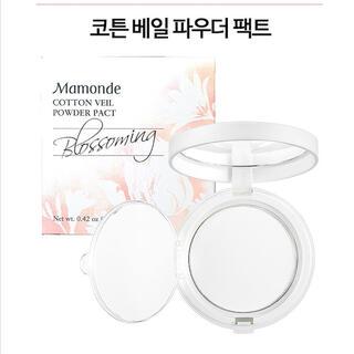 3ce - Mamonde マモンド コットンベールパウダーパクト ゆきりん使用