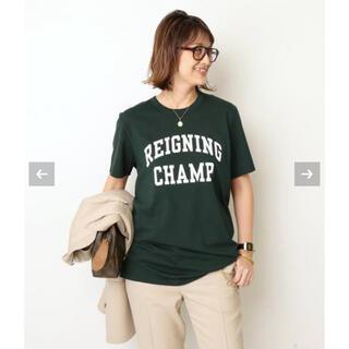 FRAMeWORK - Deuxieme Classe REIGNING CHAMP ロゴTシャツ 新品