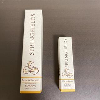 【新品】SPRINGFIELDS ハンドクリーム リップオイル 2つセット(ハンドクリーム)