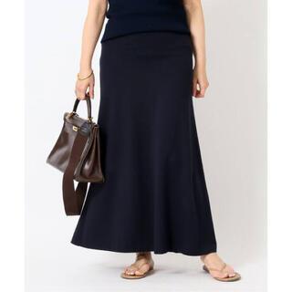 DEUXIEME CLASSE - ドゥーズィエムクラス  追加 Jersey フレアスカート ネイビー