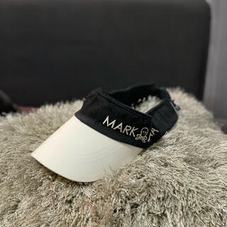 マークアンドロナ(MARK&LONA)のMARK&LONA💀サンバイザー、メンズ、マークアンドロナ⛳️(サンバイザー)