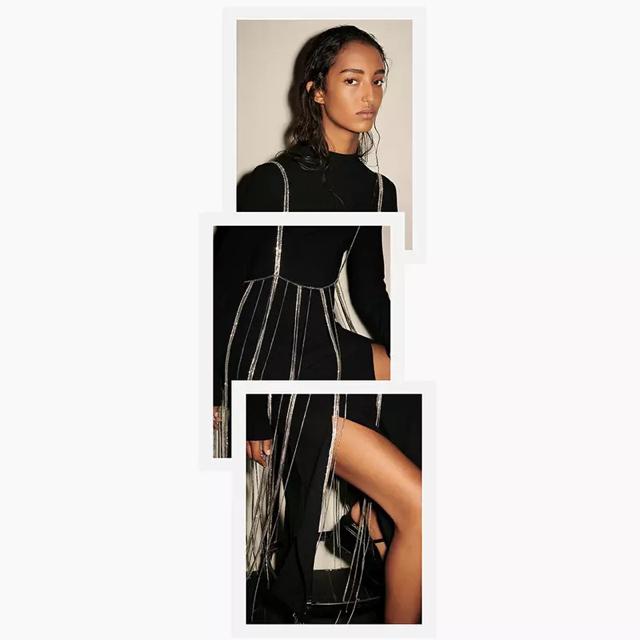 Ameri VINTAGE(アメリヴィンテージ)のラインストーン  トップス【2点のみ】 レディースのファッション小物(ベルト)の商品写真