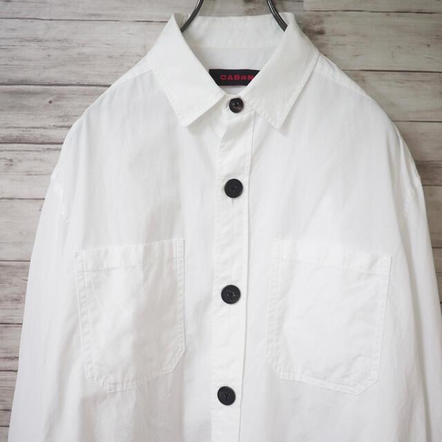 CABaN 19SS ダブルポケット コットンシャツジャケット メンズのトップス(シャツ)の商品写真