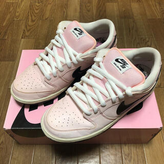 NIKE - 込 NIKE SB DUNK LOW PINK BOX 27.5cm