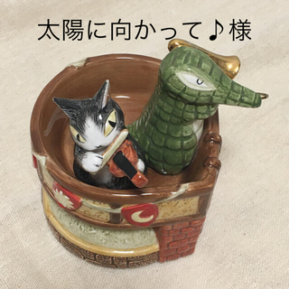 難あり(ダヤン無) わちふぃーるど オルゴール 演奏会 ジタン&イワン 猫 ワニ(オルゴール)