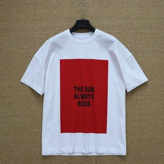 Jil Sander - 【白+赤L】2枚で9800円です新品 JIL SANDER  Tシャツ