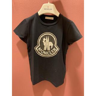 モンクレール(MONCLER)のモンクレール 半袖 ネイビー 訳あり 4anni 104cm(Tシャツ/カットソー)