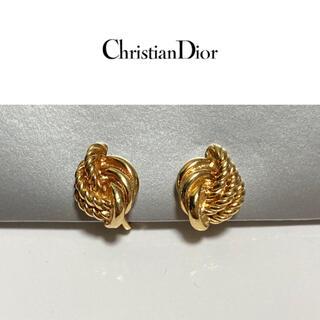 Christian Dior - Christian Dior イヤリング クリスチャンディオール ツイスト 美品