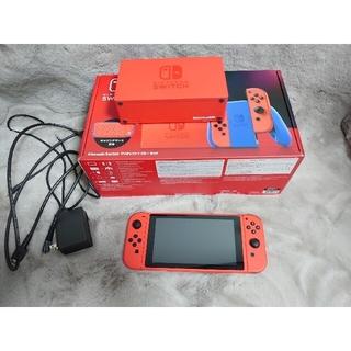 Nintendo Switch - ニンテンドースイッチ マリオレッド×ブルー 本体 セット購入有 switch