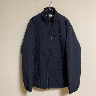 ナイキ(NIKE)のNike ナイキ 刺繍 ロゴ 中綿 ジャケット ブルゾン ブラック 黒(ブルゾン)