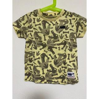 チャオパニックティピー(CIAOPANIC TYPY)のCIAO PANIC TYPY 迷彩Tシャツ100(Tシャツ/カットソー)