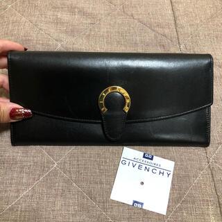 ジバンシィ(GIVENCHY)の希少デザイン⭐︎ジバンシー ホースシュー(馬蹄)デザイン長財布(財布)
