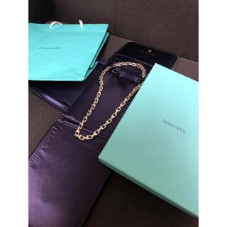 ティファニー(Tiffany & Co.)のTIFFANY ティファニー Tチェーンネックレス(ネックレス)