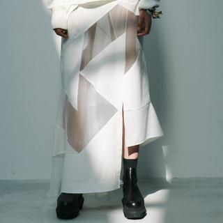 sacai - sacai  21SS  スカート  ホワイト/サイズ2