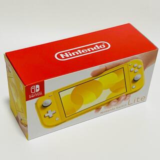 Nintendo Switch - NINTENDO SWITCH LITE ニンテンドースイッチ ライト イエロー