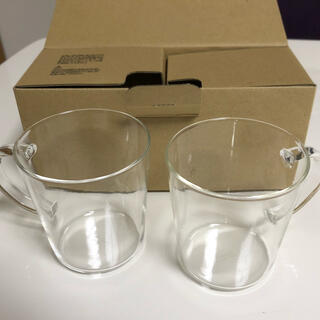ハリオ耐熱ガラスマグカップ2個セット