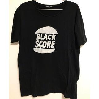 ロンハーマン(Ron Herman)のBLACK SCORE プリント Tシャツ(Tシャツ(半袖/袖なし))