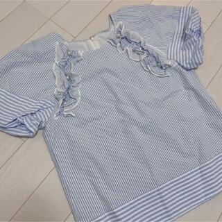 チェスティ(Chesty)のチェスティ パール フリル ブラウス(シャツ/ブラウス(半袖/袖なし))