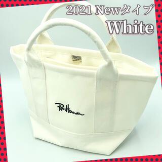 ロンハーマン(Ron Herman)のロンハーマン トートバッグ ホワイト 舟形 キャンバス ミニトートバッグ 新品(トートバッグ)