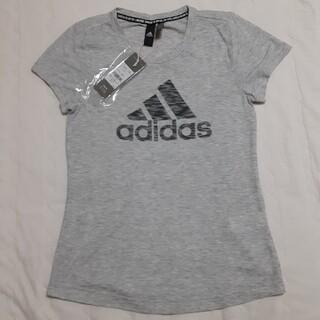 アディダス(adidas)の【未使用】adidas半袖Tシャツ ガールズ160(Tシャツ(半袖/袖なし))