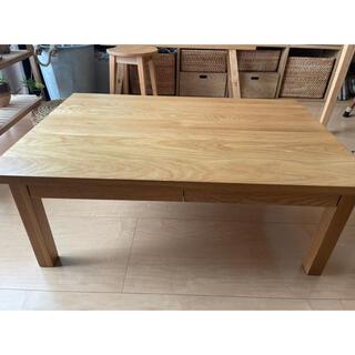 MUJI (無印良品) - 美品 無印良品  無垢材ローテーブル 送料込み