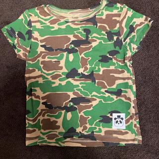 こどもビームス - ミニロディーニ mini rodini 迷彩Tシャツ