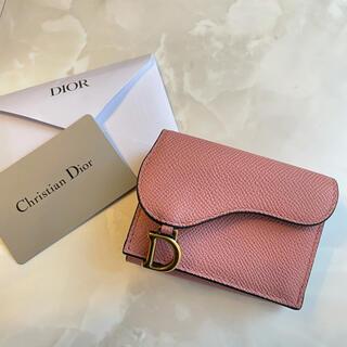 Christian Dior - ディオール 財布 ミニ財布 二つ折り サドル