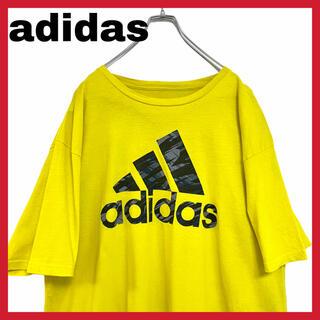 アディダス(adidas)のadidas アディダス Tシャツ 半袖 パフォーマンスロゴ ビッグロゴ(Tシャツ/カットソー(半袖/袖なし))