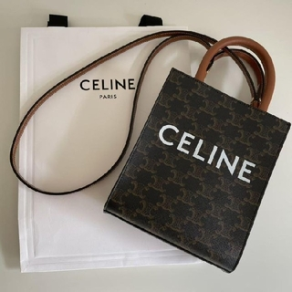 celine - CELINE 2way ミニ バーティカルカバ/ショルダーバッグ