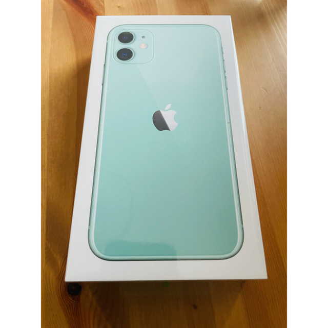 Apple(アップル)のiPhone 11 グリーン 128GB SIMフリー スマホ/家電/カメラのスマートフォン/携帯電話(スマートフォン本体)の商品写真