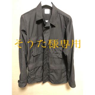 超希少Mサイズ BLACK357 BDUジャケット 美品(ミリタリージャケット)