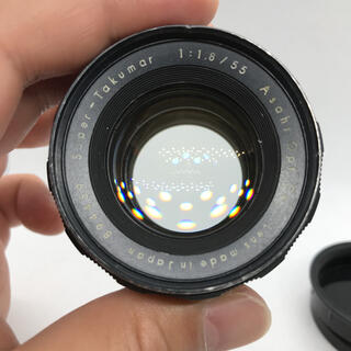 ペンタックス(PENTAX)のPENTAX super takumar 55mm f1.8 前期品。(レンズ(単焦点))