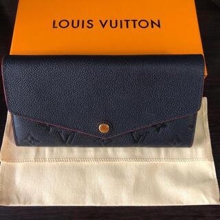 LOUIS VUITTON - 【新品同様】LOUISVUITTON ルイヴィトン ポルトフォイユサラ ネイビー