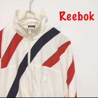 リーボック(Reebok)の【レア】リーボック 90s ナイロンジャケット アウター ジップ ストリート(ナイロンジャケット)