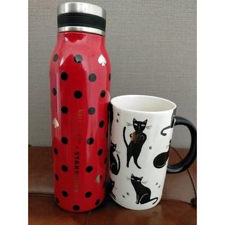 Starbucks Coffee - 未使用 スタバ ケイトスペード コラボステンレス マグカップ