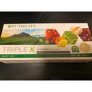 アムウェイ(Amway)のニュートリライト トリプルエックス 10個(ビタミン)