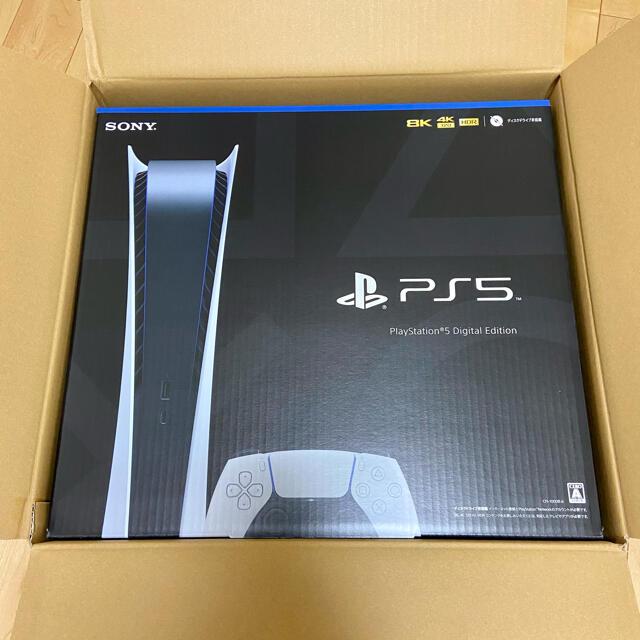 PlayStation(プレイステーション)のps5 デジタルエディション 新品未使用 エンタメ/ホビーのゲームソフト/ゲーム機本体(家庭用ゲーム機本体)の商品写真