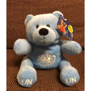 国連(UN)グッズ クマのぬいぐるみ