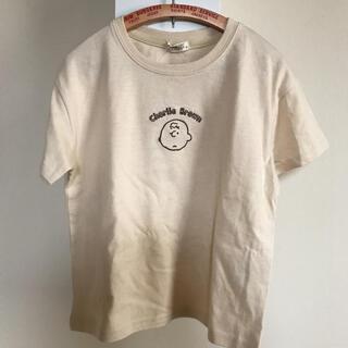 シマムラ(しまむら)のしまむら スヌーピー チャーリーブラウン Tシャツ 新品タグ付き(Tシャツ/カットソー)
