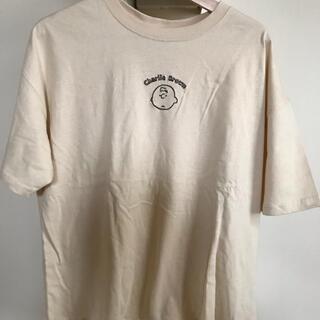 シマムラ(しまむら)のしまむら スヌーピー チャーリーブラウン Tシャツ LL 新品タグ付き(Tシャツ(半袖/袖なし))