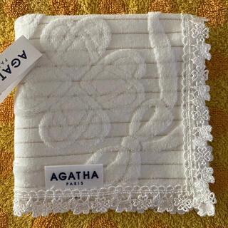 アガタ(AGATHA)のアガタ レースタオルハンカチw(ハンカチ)