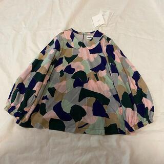 ミナペルホネン(mina perhonen)の『新品タグ付』ミナペルホネン foliage 100 pink mix(Tシャツ/カットソー)
