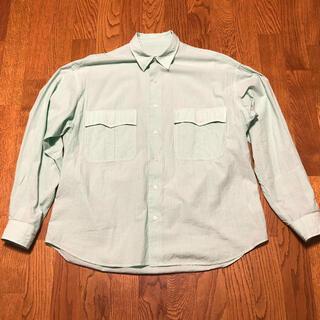 COMOLI - porter classic ロールアップシャツ