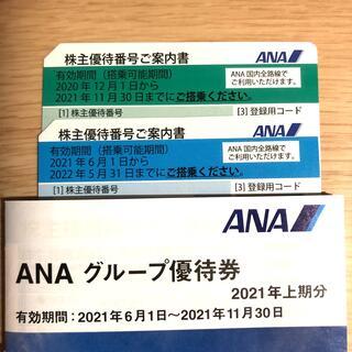 エーエヌエー(ゼンニッポンクウユ)(ANA(全日本空輸))のANA 全日空株主優待券(その他)
