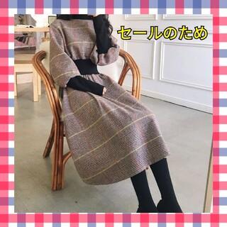 GRL - 韓国ファッション 人気の格子 ワンピース チェック柄 レディース