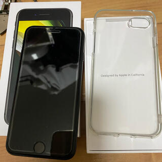 Apple - iphone SE2 64GB ブラックSIMロック解除済み美品