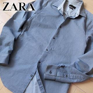 ザラ(ZARA)の美品 (EUR)S ザラ ZARA MAN SLIM FIT メンズ シャツ(シャツ)