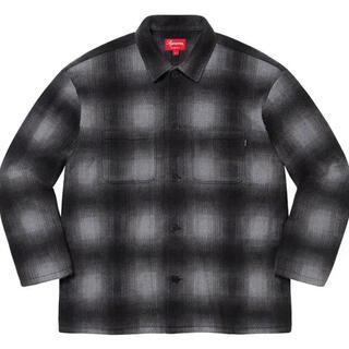 Supreme - Shadow Plaid Fleece Shirt M