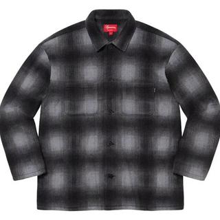 Shadow Plaid Fleece Shirt M