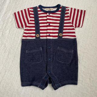 ニシマツヤ(西松屋)のベビー服 80サイズ(ロンパース)
